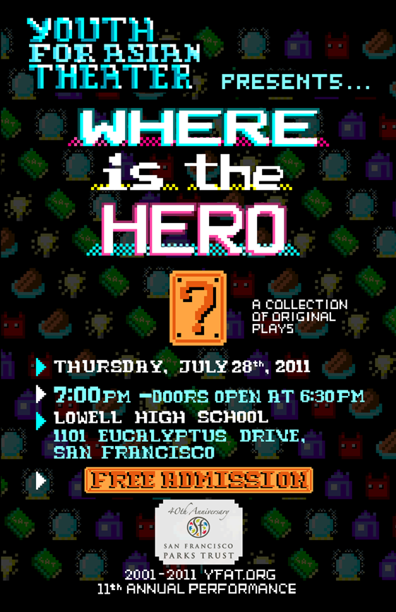 Where is the Hero? poster small